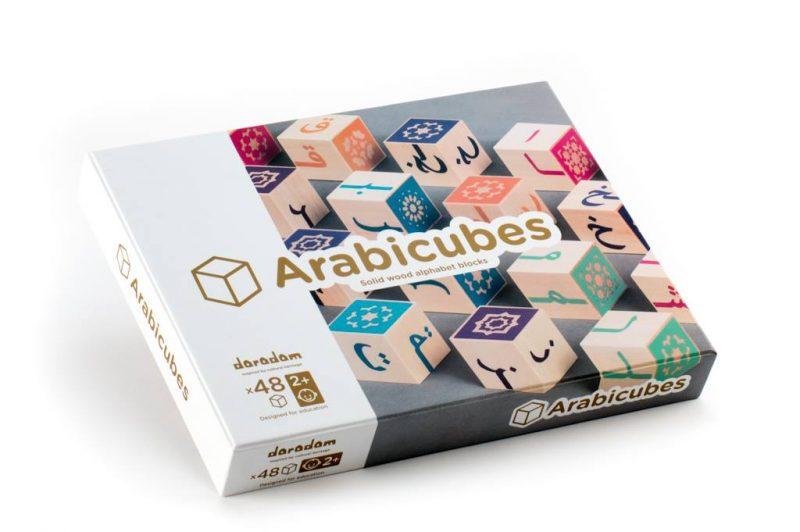 Arabicubes, Cubes d'alphabet arabe